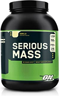 Optimum Nutrition Serious Mass Vanilla, 6 lbs.