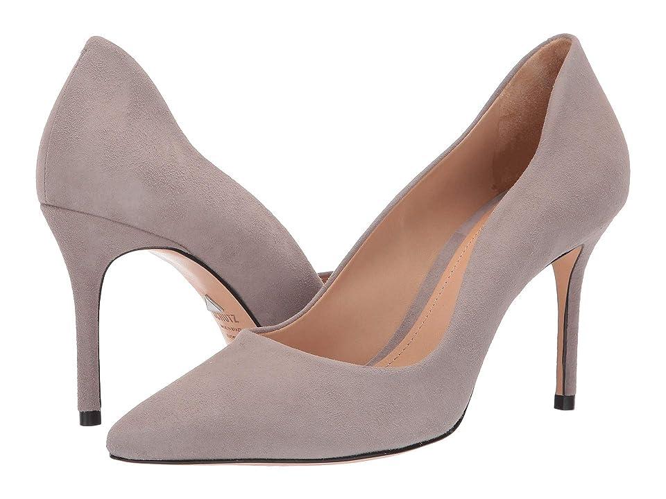 Schutz Analira (Mouse Camurca Cabra) High Heels