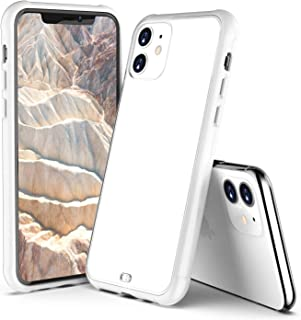 ORIbox Case for iPhone 11, Translucent Matte case with Soft White Edges, Shockproof and Anti-Drop Protection Case Designed for iPhone 11