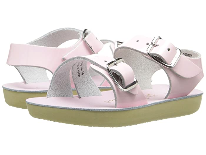 Salt Water Sandal by Hoy Shoes  Sun-San - Sea Wees (Infant/Toddler) (Shiney Pink 1) Girls Shoes