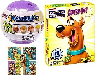 Soft Fruity Scooby-Doo Snacktime Fun! Shaped Fruit Snacks Mystery Machine / Fred / Daphne / Velma & Shaggy Gang + Mini Cha...
