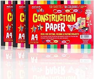 bright white construction paper 9x12
