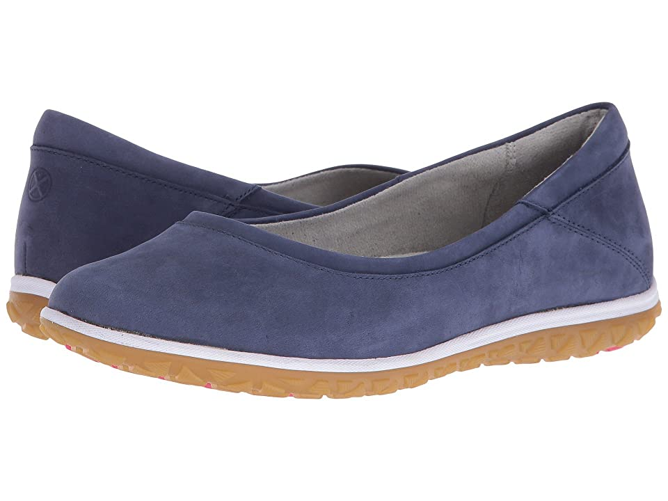 Hush Puppies Berkleigh Audra (Navy Nubuck) Women