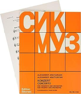 アルチュニアン : 協奏曲 (トランペット、ピアノ) シコルスキ出版