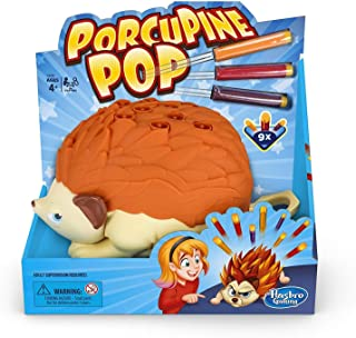 Porcupine Pop - Interactive Pre School Activities - 2 Plus Players - Kids Board Games - Toys for Girls and Boys - Ages 4+
