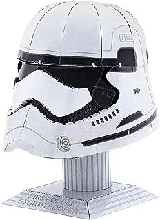Fascinations Metal Earth First Order Stormtrooper Helmet 3D Metal Model Kit