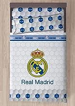 Carbotex Juego DE SÁBANAS Real Madrid Escudo CENTRADO (90)