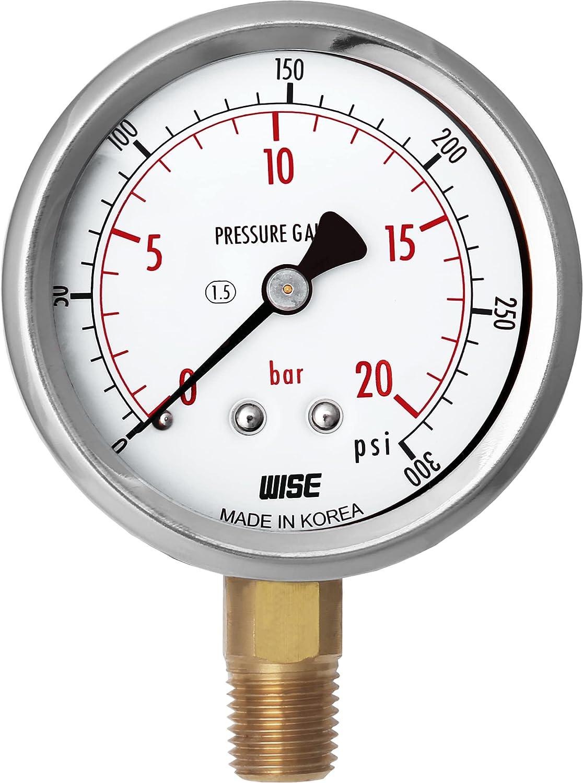 WISE General Service 2021 Pressure Gauge P254 2