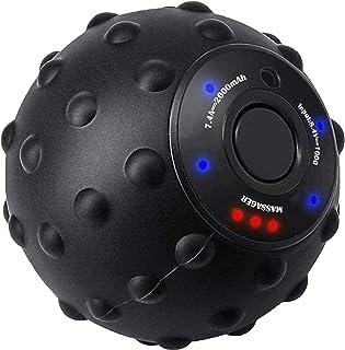 振動ボール Eliklivマッサージボール ストレッチボール 電動 フォームローラー 振動 3d マッサージ ヨガボール 全身用 4段階可調整