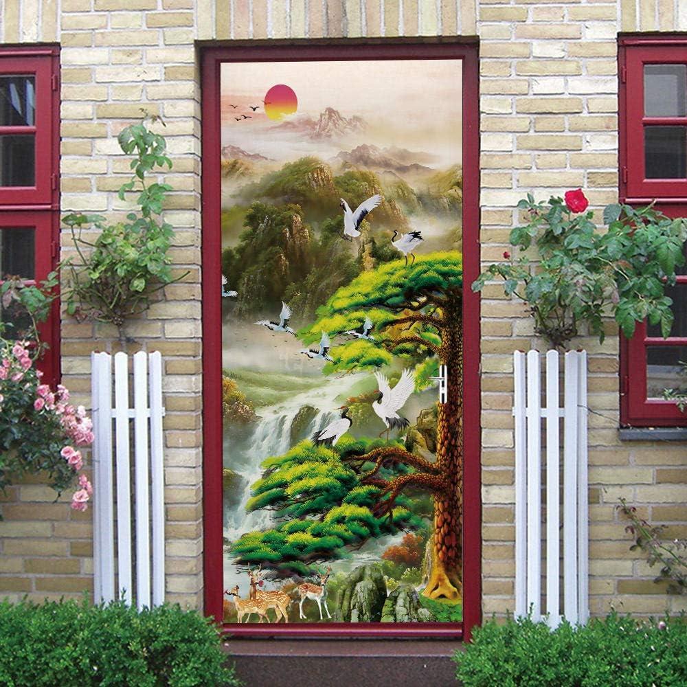Phoenix Mall DIY Door Wall Stickers 25% OFF Murals 34.6