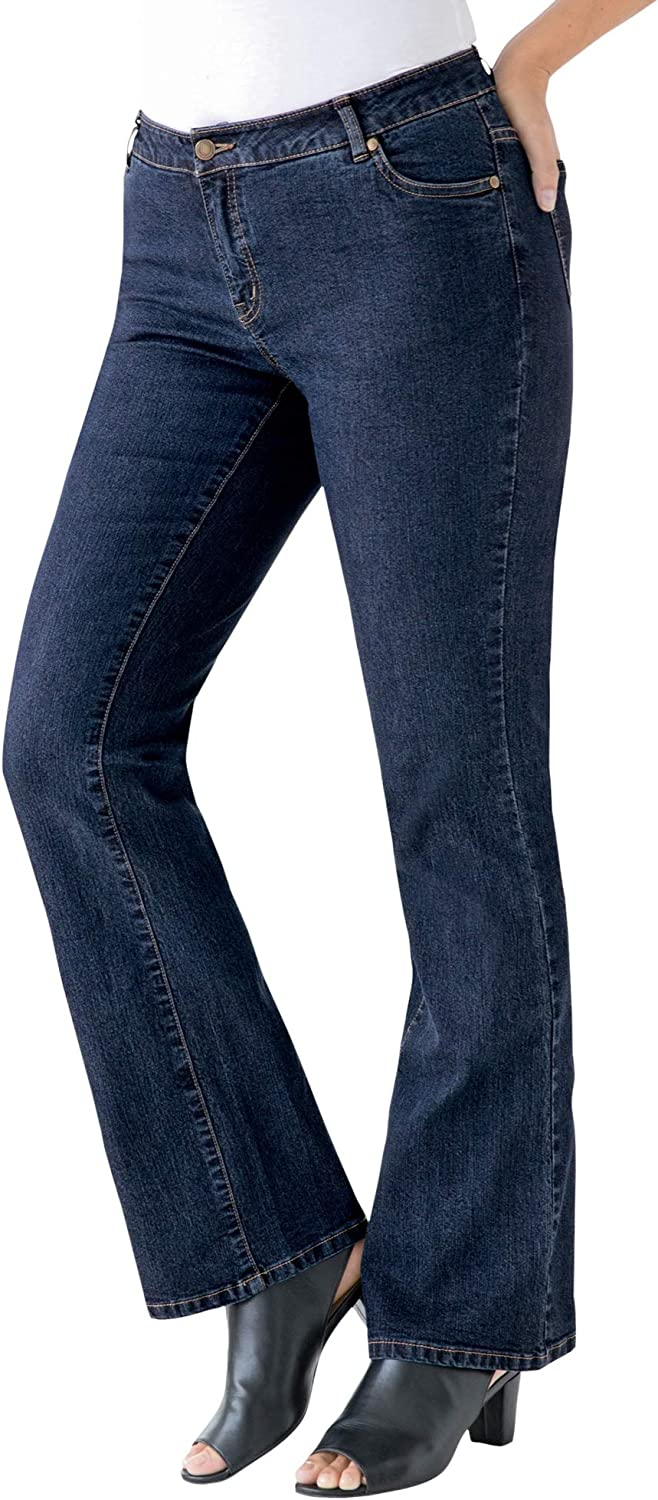 Max 72% OFF Ranking TOP10 Jessica London Women's Plus Size True Jeans Fit Bootcut