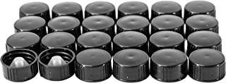 (24 Pack) Black Cone Lined Cap (22/400)