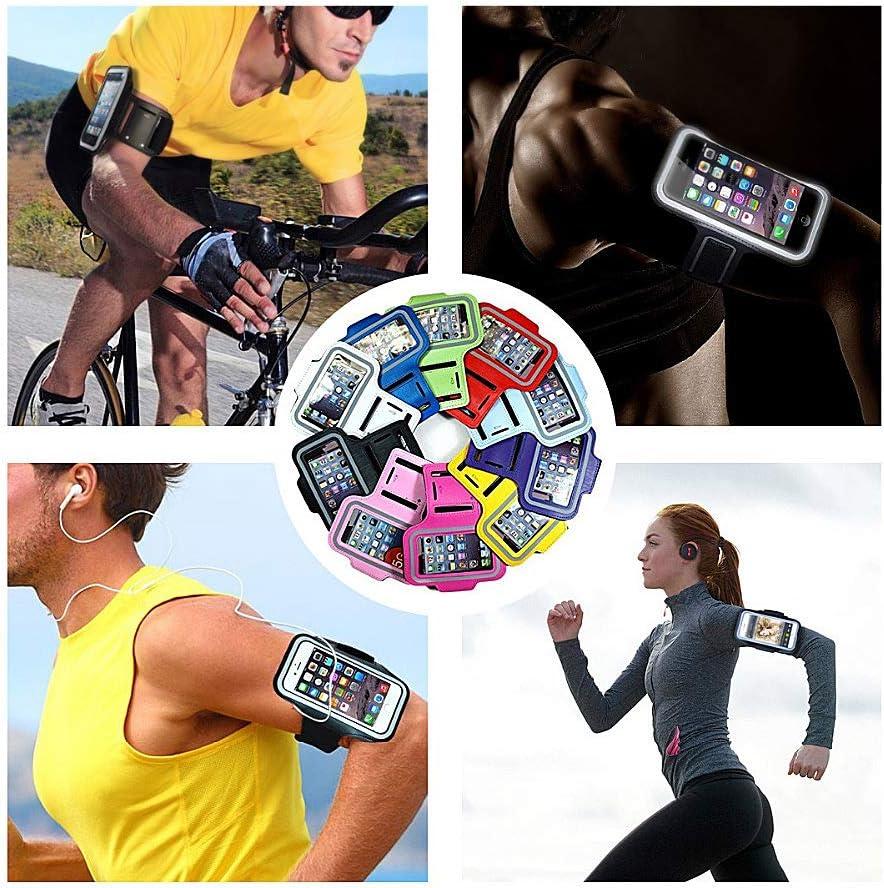 lentra/înement et lexercice iPro Accessories /Étui brassard pour Xiaomi Poco X3 NFC la course le jogging la randonn/ée la marche Noir Pour le sport