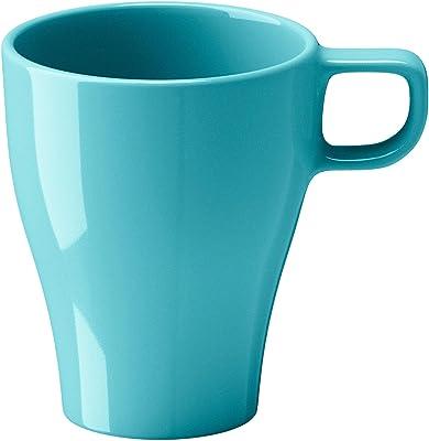 Digital Shoppy IKEA Stoneware Coffee Mug, 250 ml (Turquoise)