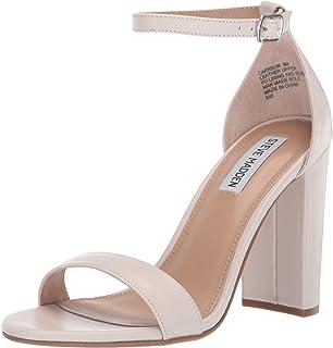 f5bda5138a0 Amazon.com  White - Heeled Sandals   Sandals  Clothing