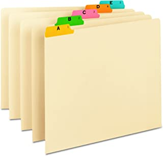 Best alphabetical file drawer dividers Reviews