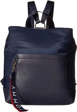 99582918cf Tommy Hilfiger. Flag Canvas Flap Backpack. $94.99MSRP: $118.00. Navy