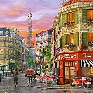 "[Chamberart] 2000 Piece Premium Jigsaw Puzzles ""Distance of The Eiffel Tower"" A-2013 by Dominc Davison"