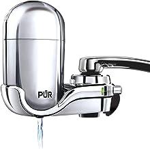 PUR FM-3700 Advanced Faucet Water Filtration System, Chrome