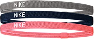 Nike Elastische haarbanden set van 3 hoofdbanden in vier verschillende kleuren.