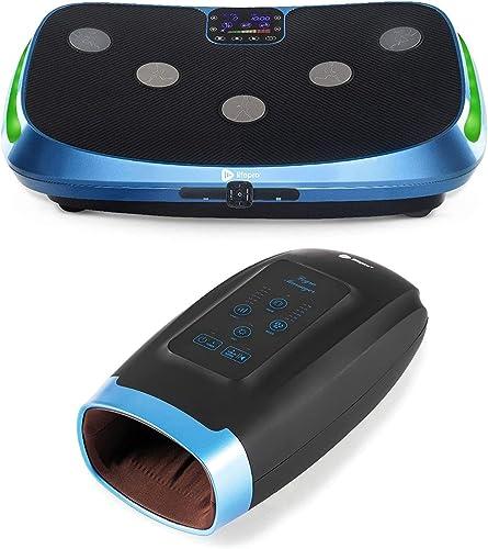 new arrival LifePro Rumblex 4D Vibration Plate Exercise outlet online sale wholesale Machine and Legra Plus Hand Massager Machine Bundle online