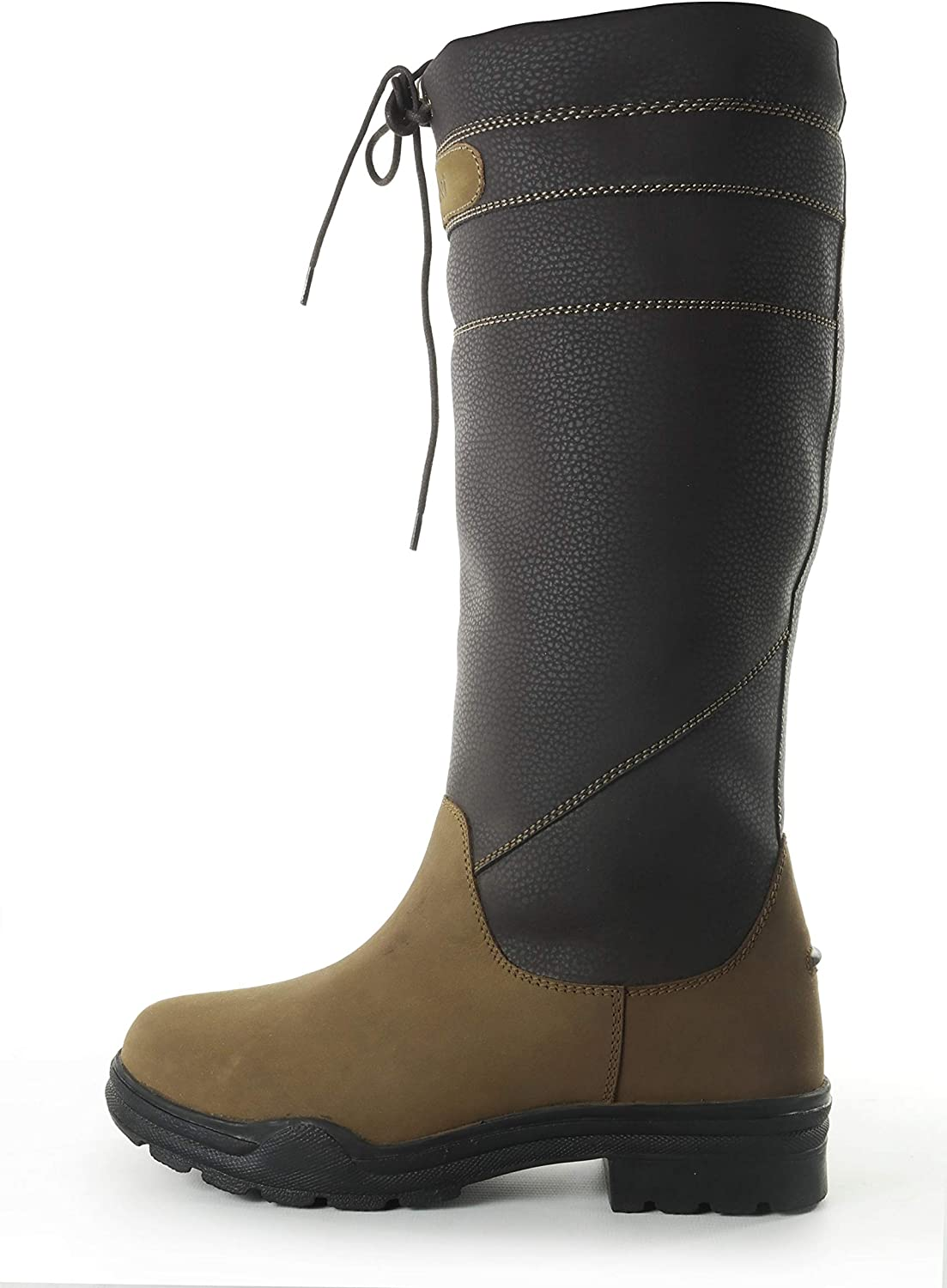 Brogini Unisex Adults Derbyshire Leather Extra Wide Country Boots