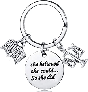 Lawyer Gifts She Believed She Could So She Did Keychains for Women Law School Graduation Gifts