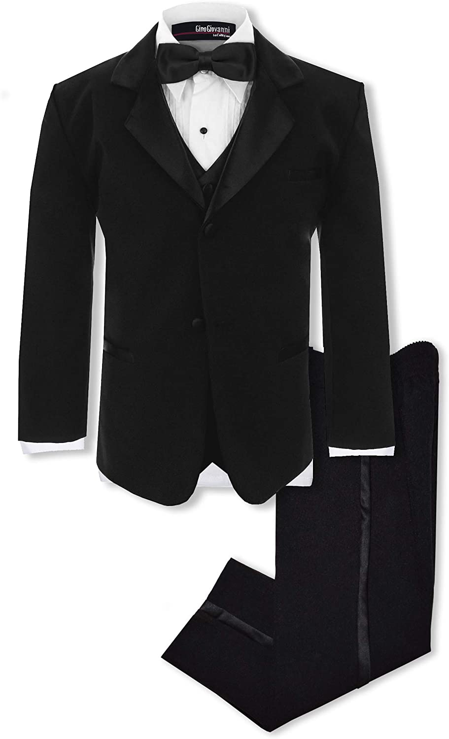 Quality inspection Gino Giovanni Boys Formal Complete Set Tuxedo Now on sale Suit