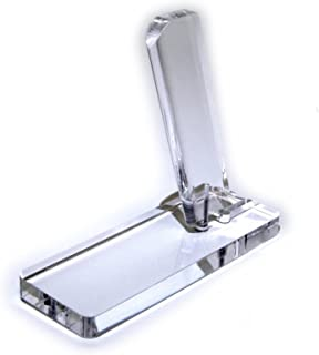 NO-M.A.R 38 Super & 9mm Single Stack Clear Acrylic Pistol Display Stand