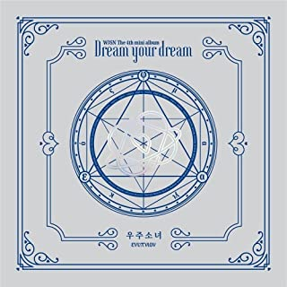 WJSN Cosmic Girls - [Dream Your Dream] 4th Mini Silver Ver CD+72p Booklet+1p Photocard+1p Pre-Order Gift(Bookmark) K-POP S...