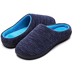 4429a426e1c0 RockDove Women s Birdseye Knit Memory Foam Slipper