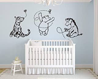 Lovely Decals World Classic Winnie The Pooh with Tigger and Eeyore 76