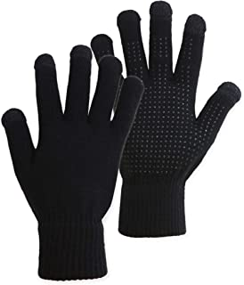 stretch gloves with grip dots