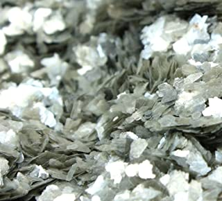Meyer Imports Natural Mica Flakes - Silver Med - 1/4 oz - #311-4321
