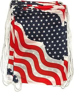 patriotic drawstring bags