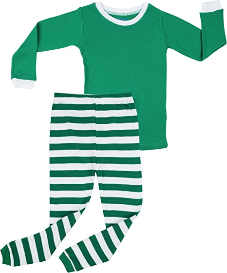 Comfortable Warm elowel Sizes: 6 Months Girls Stylish Unisex Romper 5 Years Christmas Sleepwear 100/% Cotton with Feet Kids Pyjamas Boys Red-Green-White One Piece Striped