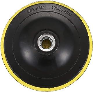 Dciustfhe Polijstschijf stuetzschijf schuurschijf klittenband plaat M14 voor polijstmachine nieuw K1 schroefdraaddiameter:...