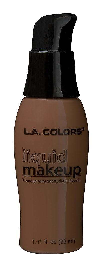 不定復活気怠いLA COLORS Liquid Makeup - Black Walnut (並行輸入品)