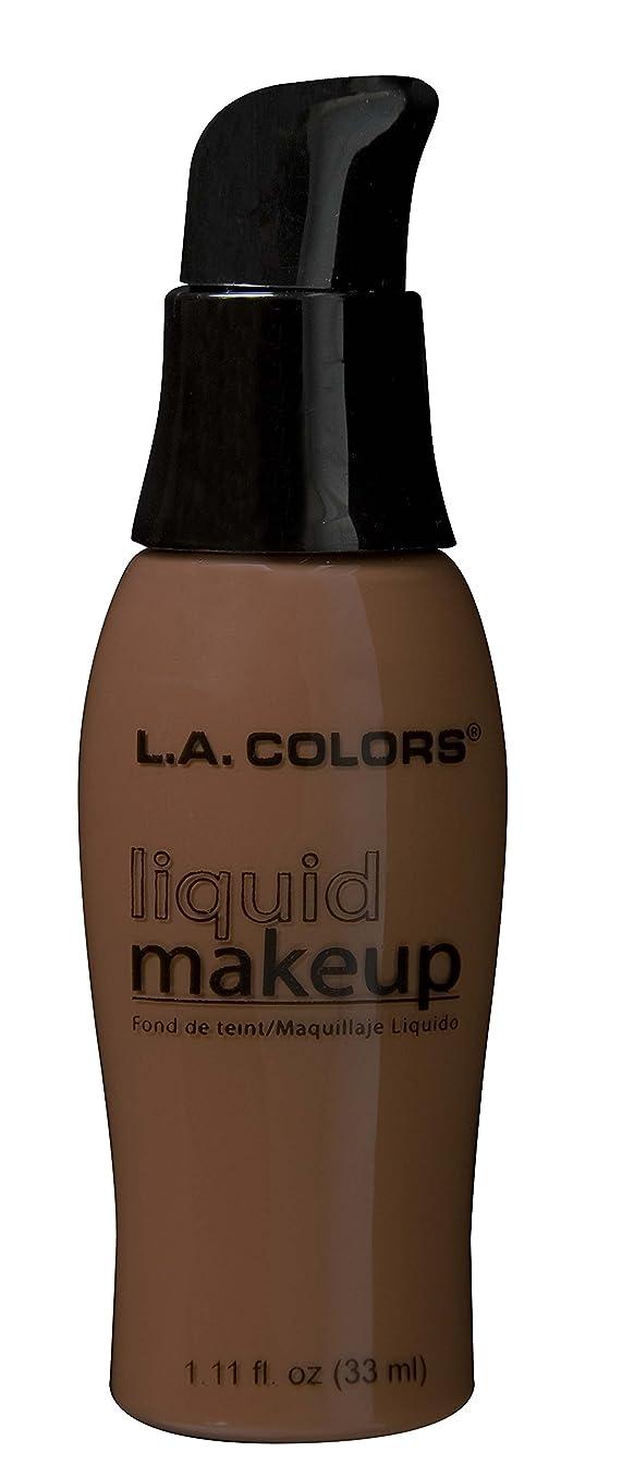 ピッチャー気候の山真鍮LA COLORS Liquid Makeup - Black Walnut (並行輸入品)