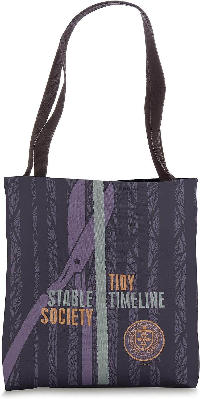 Marvel Loki TVA Stable Society Tote Timeline Genuine Tidy Bag Max 82% OFF