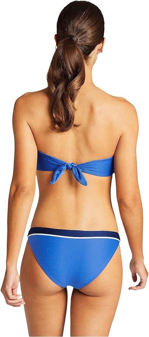 Blue Bar Stripe Rib