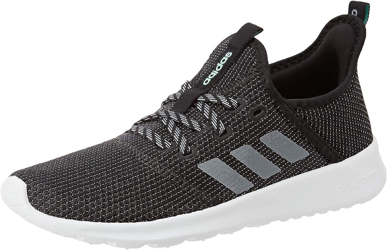adidas Women's Cloudfoam Pure Running Shoe, Core Black Grey Grey