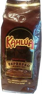 Kahlua Ground Coffee Espresso Martini Flavor Limited Edition 12 Oz. (1 bag)