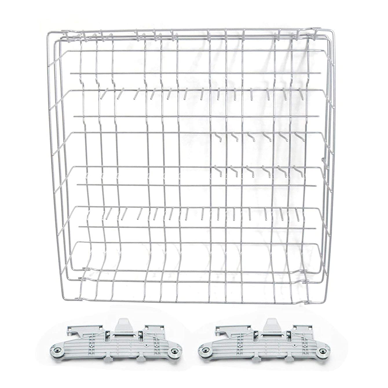 Global Products Dishwasher Upper Dishrack Assembly Compatible with Frigidaire A01986801