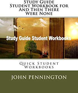 Study Guide Student Workbook for And Then There Were None: Quick Student Workbooks