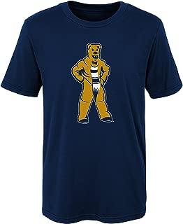 NCAA Penn State Nittany Lions Kids Standing Mascot Tee, Kids Medium(5-6), Navy