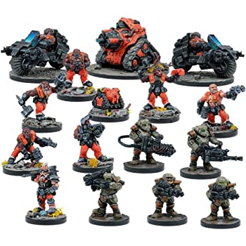 Warpath Universe Forge Fathers Hammerfist Drop Team MANTIC ENTERTAINMENT LTD MGWPF305