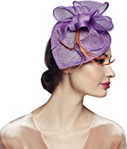 Fascinator Headband Cocktail Wedding Tea Party Derby Hats for Women