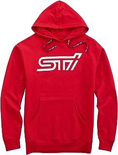 SUBARU Sti Hooded Hoodie Sweatshirt Sti Official Genuine WRX New Racing JDM New (Small)
