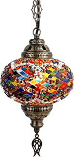 Best mosaic hanging lamps Reviews
